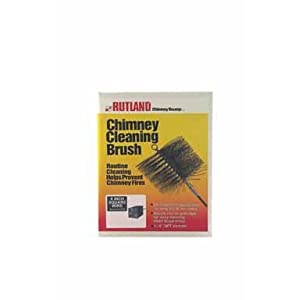 Rutland Products 16508 8-Inch Square Chimney Cleaning Brush 2 Chimney cleaning brush Routine chimney cleaning helps prevent fires Oil tempered spring wire for long life and durability