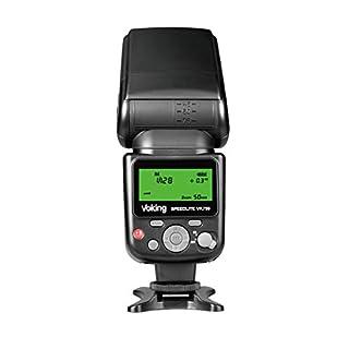 VOKING VK750 Manual LCD Display Universal Flash Speedlite for Canon Nikon Pantax Panasonic Olympus Fujifilm DSLR Mirrorless Cameras