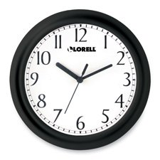 - Lorell 60987 Wall Clock, 9