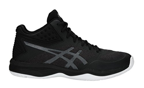 Image of ASICS Men's Netburner Ballistic FF MT Volleyball Shoes, Black/Black, Size 7