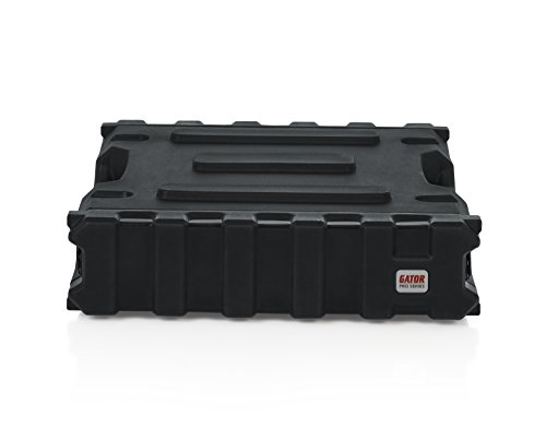 Gator Cases Pro Series Rotationally Molded 2U Rack Case with Standard 19