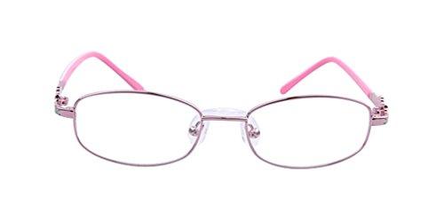 De Ding Childrens Eyewear Prescription Eyeglasses Pink Frame