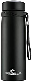 Delso Flask Double Wall Vacuum Insulated Stainless Steel Water Bottle
