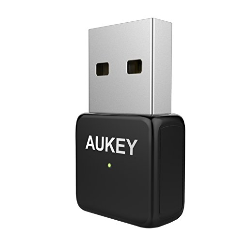 AUKEY WiFi Adapter, AC600 Dual Band USB Wireless Adapter for Windows 7, 8, 10, XP, Vista and Mac OS X 10.9, 10.10, 10.11