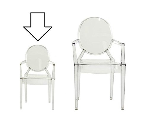 Kartell Lou Lou Ghost Clear - SMALL CHILDRENS CHAIR: Amazon.co.uk ...