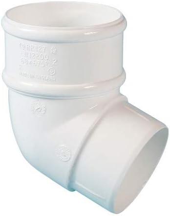 Poliducto RR127 blanco 112.5deg Es posible curvar juego de fisureros para escalada para 68 mm tubería bajante