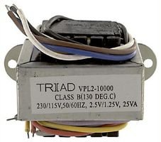 2 X 12V 5VA TRIAD MAGNETICS VPL24-210 TRANSFORMER