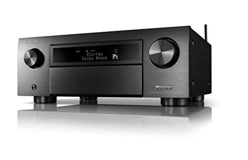 Denon AVR-X6700H 8K Ultra HD 11.2 Channel (140Watt X 11) AV Receiver 2020 Model - 3D Audio & Video with IMAX Enhanced, Built for Gaming, Music Streaming, Alexa + HEOS