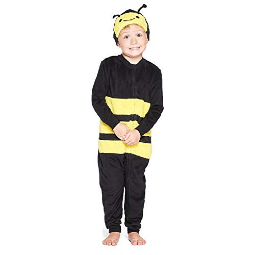 Cat & Jack Bee Blanket Sleeper Union Suit - 4T Yellow