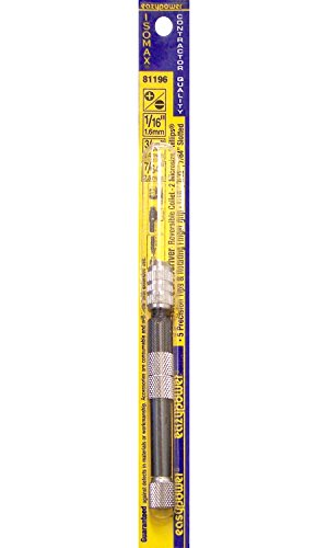 Eazypower 30544 10-in-1 Precision Screwdriver with Reversible Collet (4 Phillips, 2 Slotted, 2 TeeStar, 2 Triple-Y) ()