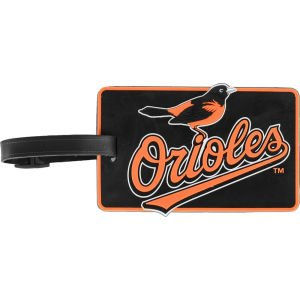 aminco Baltimore Orioles - MLB Soft Luggage Bag Tag,black