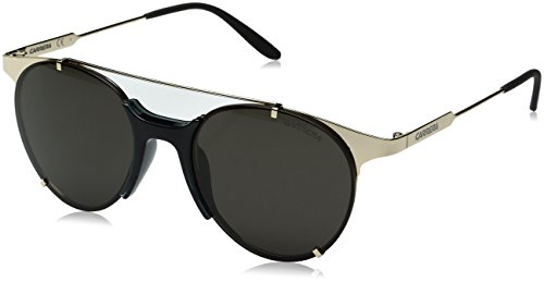 Carrera Men's Ca128s Round Sunglasses, Gold/Brown Gray, 52 - Carrera Brown Gold Sunglasses