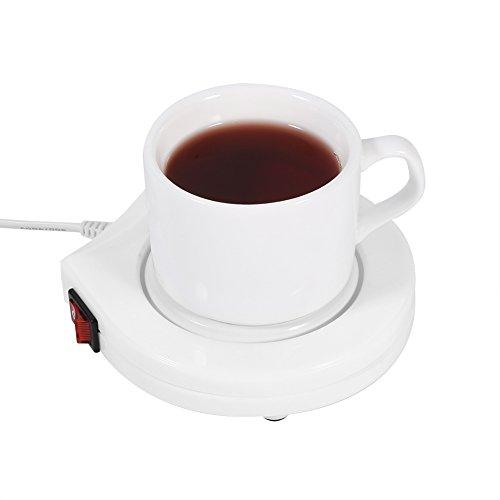 Calentador de La Taza de Café Calentador Eléctrico de La Taza de Café Calentador Placa de La Almohadilla Bebida para El...