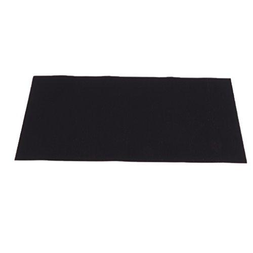Nylon Repair Fabric - Baosity Self-Adhesive Down Jacket Repair Patch Washable Waterproof for Nylon and Polyester Fabric Shirt Sleeping Bag Backpack - Black