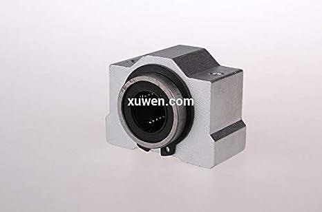SCV16//SCV16UU//SC16VUU Linear Ball Bearing Pellow Bolck house with LM16UU for CNC