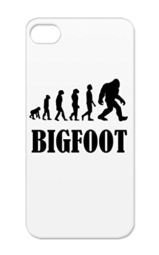 Black Evolution Humor Silhouette Miscellaneous Sasquatch Bigfoot Funny Of Funny Bigfoot Evolution Protective Hard Case For Iphone 5 TPU