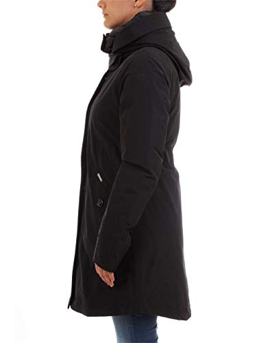 1 Woolrich Eskimo in Military Black 3 Nero Long fqwCaqYx8