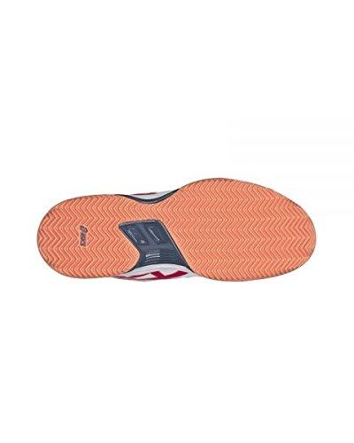 Padel Fucsia E561y Bianco Scarpe 0121 Asics gel WUaIxYn