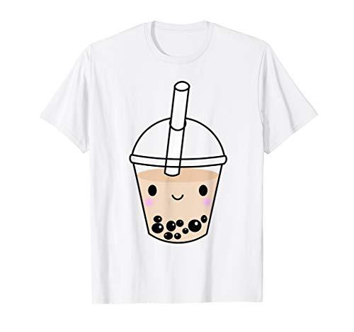 (Cute Kawaii Bubble Tea Tshirt Boba Milk Tea Lover Gift Idea)