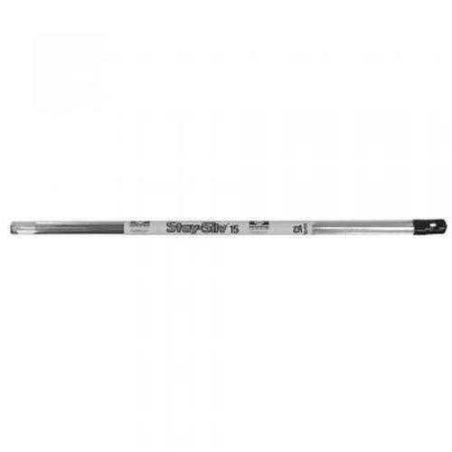 Jones Stephens J41024 15-Percent Silver Solder, Silver