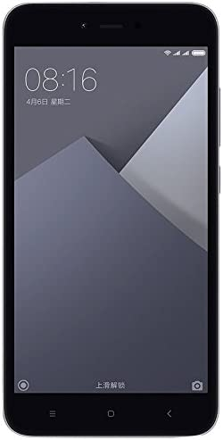 Xiaomi Redmi Note 5A Smartphone 4G 2GB 16GB Doble Sim, con Google Play [Version Europea] Gris: Amazon.es: Electrónica