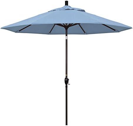 California Umbrella GSPT908117-5410 9' Round Aluminum Market