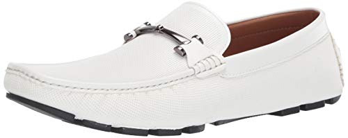 Unlisted by Kenneth Cole Men's Hope Driver D Driving Style Loafer White 7.5 M US