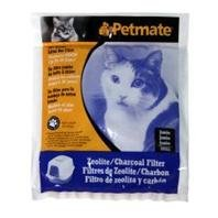Petmate Zeolite Charcoal Filters for Hooded Cat Litter Boxes - Charcoal Zeolite