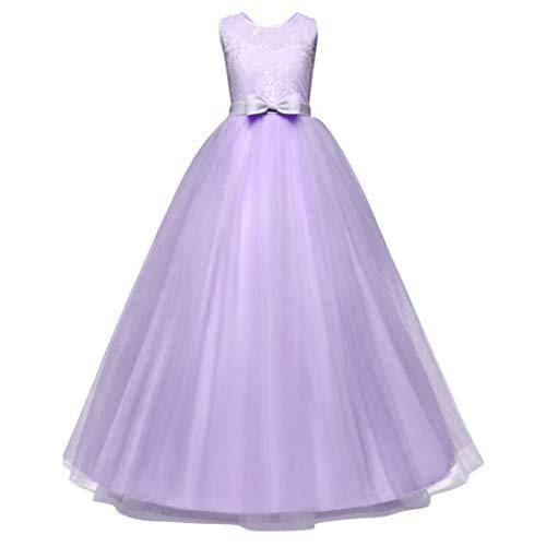 iOPQO Halloween Skirt for Kids, Girl Bowknot Backless Formal Princess Party Dress