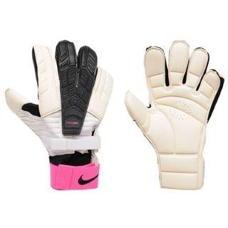 8f3b1cc77 Amazon.com : Nike GK Confidence Goalkeeper Glove - White/Pink ...