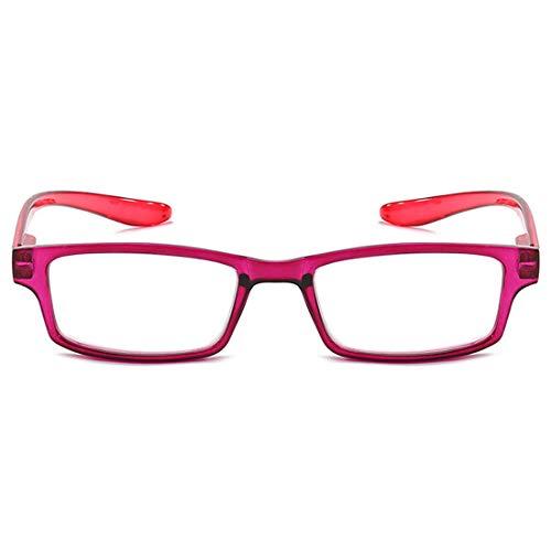 primavera sol Rojo popular unisex de ligero hombres marco duraderas alta completo clara ultra lectura gafas Mujeres moda Aiweijia naturales bisagra de de gafas calidad de de visión cómodo 15Zaqpx