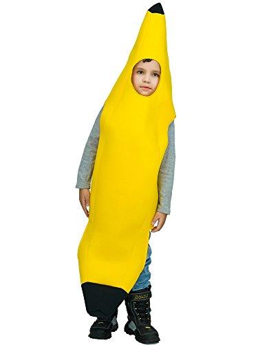 [Banana Children's Costume (One Size, Yellow)] (Fruit Costumes For Kids)