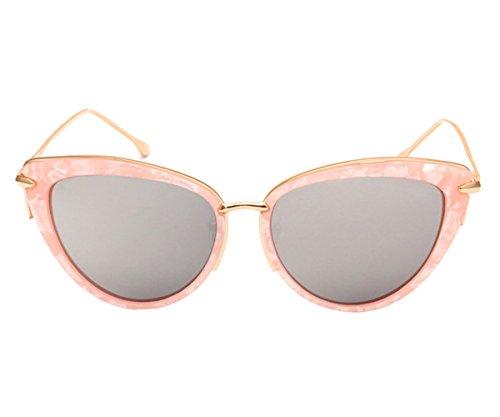 Heartisan Fashion Cat Eye Sexy Street Beat Full Frame Sunglasses for Womens C4