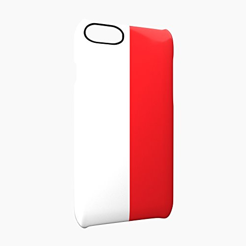 Flag of Monaco Glossy Hard Snap-On Protective iPhone 7 Plus + Case Cover