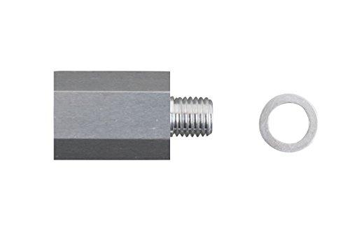 Temp Sensor Adapter - LS Coolant Temp Sensor Adapter M12 X 3/8 NPT Temperature Sensor 5.3L 6.0L, CSA375SS