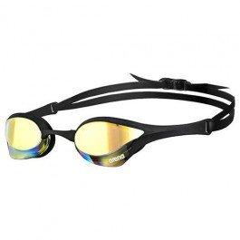 Arena Cobra Ultra Mirror - anteojos de natación, Yellow Copper/Black / Black, Una Talla