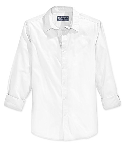 American Rag Men's Long Sleeve Shirt (Bright White, XL) from American Rag