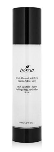 boscia White Charcoal Mattifying Makeup Setting Spray - Pore Minimizing Face Mist, 150mL