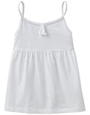 Little Girls Babydoll Tunic (4 Youth, White)