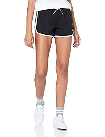 Russell Athletic Women's Retro Short, Black, 10