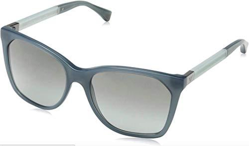 Emporio Armani EA4075F Sunglasses 553911 - Opal Grey Green Frame, Grey Gradient 57mm
