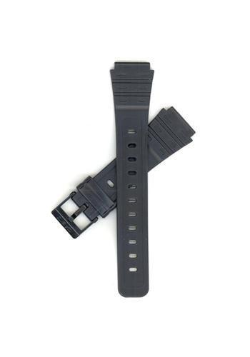 Casio Black Resin-18mm