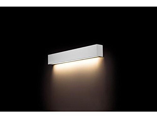 Lampada da parete moderno bianco larghezza cm t lumen