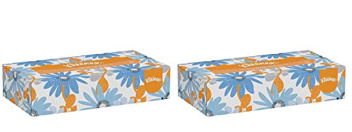 Kleenex Professional Facial Tissue for Business (21606) Flat Tissue Boxes, 2 Pack (1 case of 48) by  (Image #1)