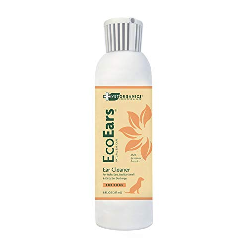 EcoEars | Natural Dog Ear Cleaner - Infection...