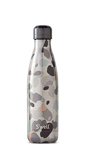(S'well Vacuum Insulated Stainless Steel Water Bottle, 17 oz, Under Wraps)