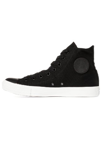 Converse Mens Mono Pack Chuck Taylor All Star Hi Sneaker Nero