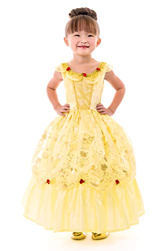 Little Adventures Yellow Beauty Princess Dress Up Costume (Medium Age -