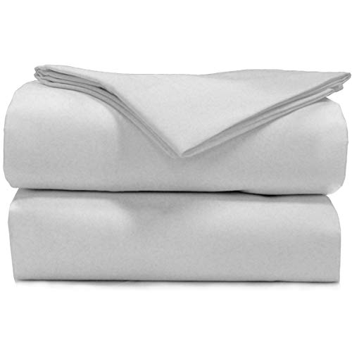 AB Lifestyles | USA-Made - Road Ready 48x78 Double Radius Sheet Sets for Airstream: White