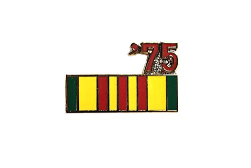 Vietnam Veteran 1975 Ribbon Lapel Hat Pin Marines Army Navy Air Force PPM803 ()